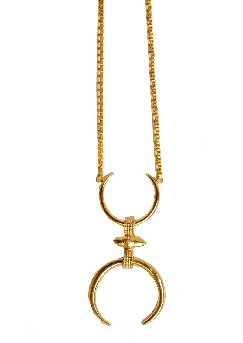 PAJAROLIMON Tesio Necklace - Gold main image