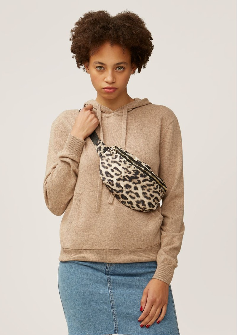 NOOKI Maisie Waist Bag - Natural Leopard main image