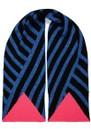 Stripe Scarf - Blue Glitter additional image