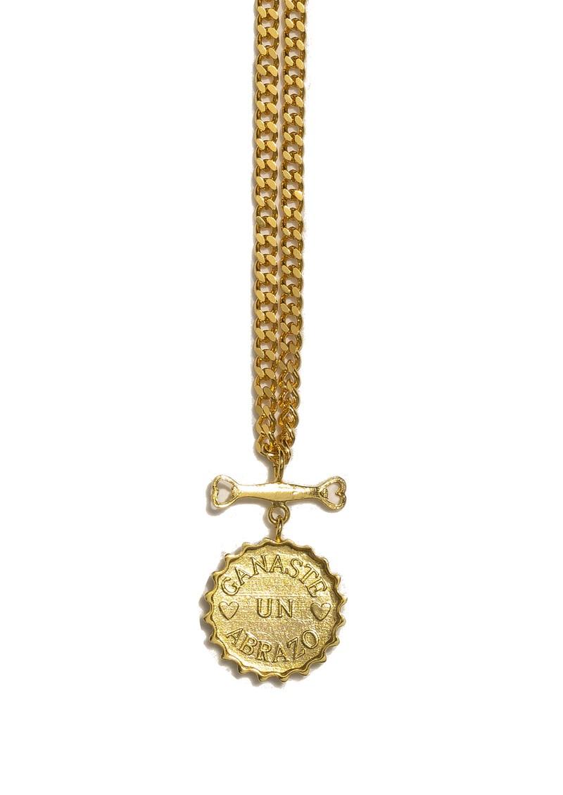 PAJAROLIMON Sprite Love Necklace - Gold main image
