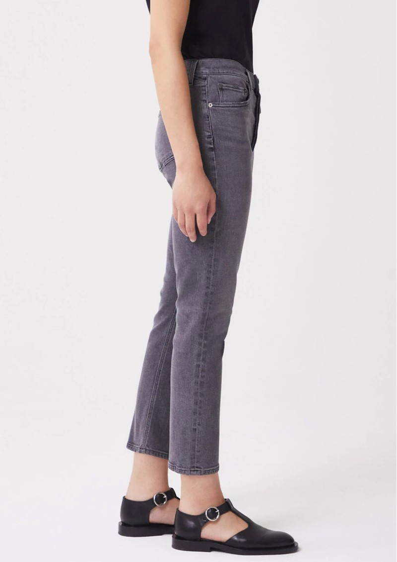 AGOLDE Riley High Rise Crop Straight Leg Jean - Sector main image