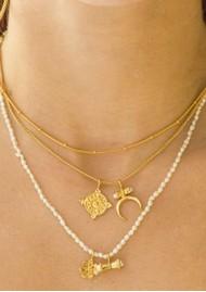 PAJAROLIMON Ares Necklace - Pearl