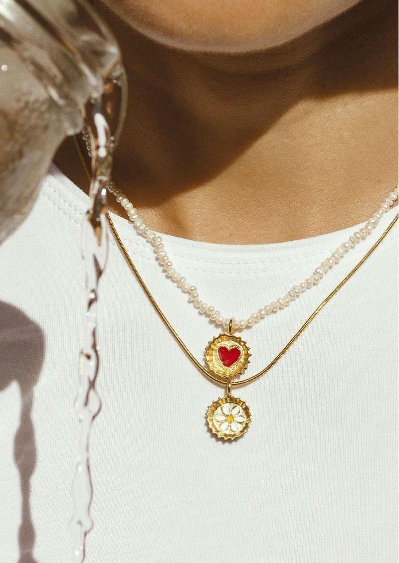 PAJAROLIMON Ares Necklace - Pearl main image