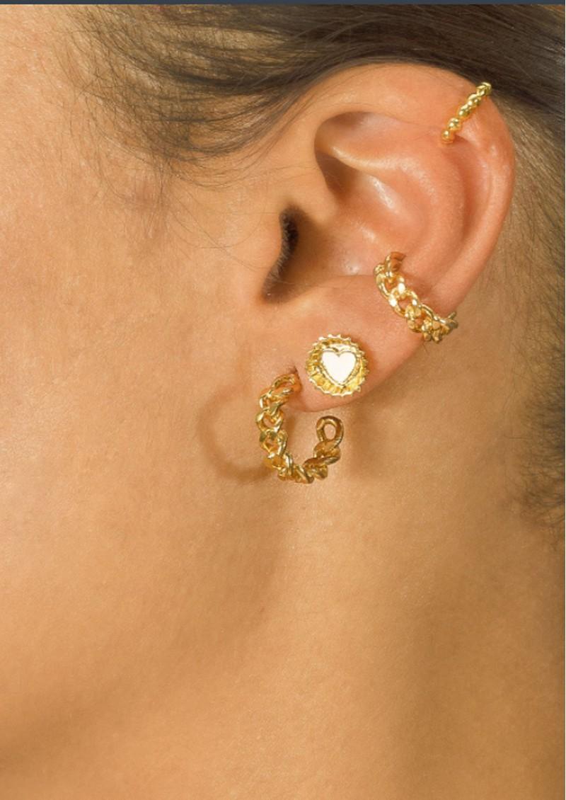 PAJAROLIMON Coca Cola Stud Earrings - White main image