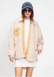 RAG & BONE Elliot Sherpa Jacket - Ivory