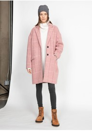 RAG & BONE Estelle Cocoon Coat - Pink
