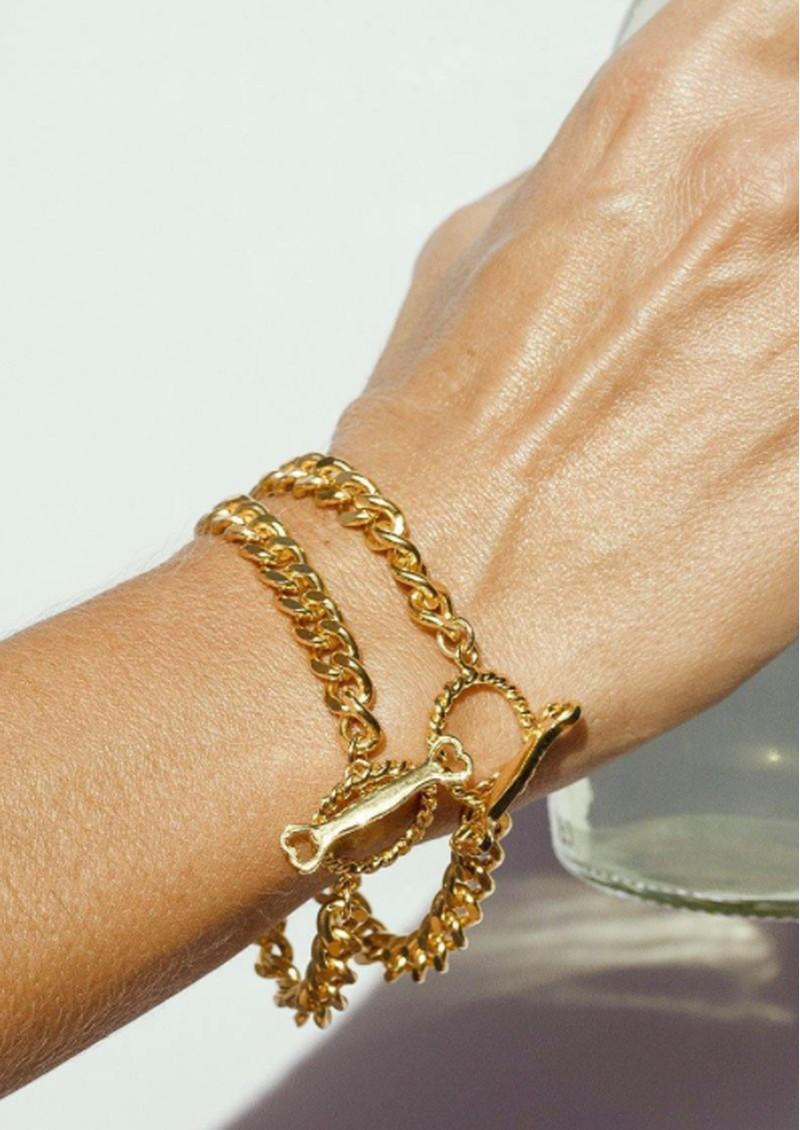 PAJAROLIMON Soda Romano Bracelet - Gold main image