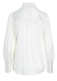 DEA KUDIBAL Callas Silk Shirt - Natural White
