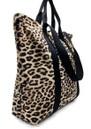 Venus Printed Shopper Bag - Natural Leopard additional image