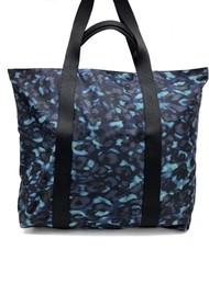 NOOKI Venus Printed Shopper Bag - Blue Leopard