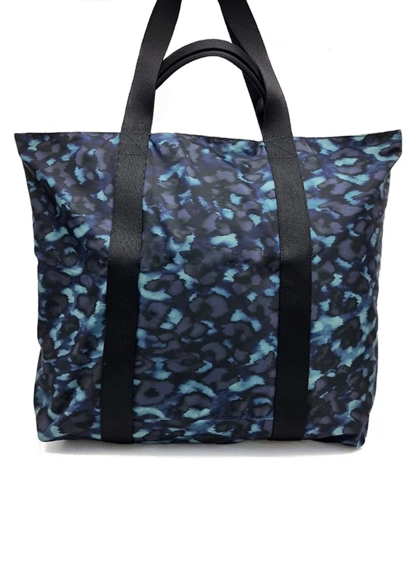 NOOKI Venus Printed Shopper Bag - Blue Leopard  main image