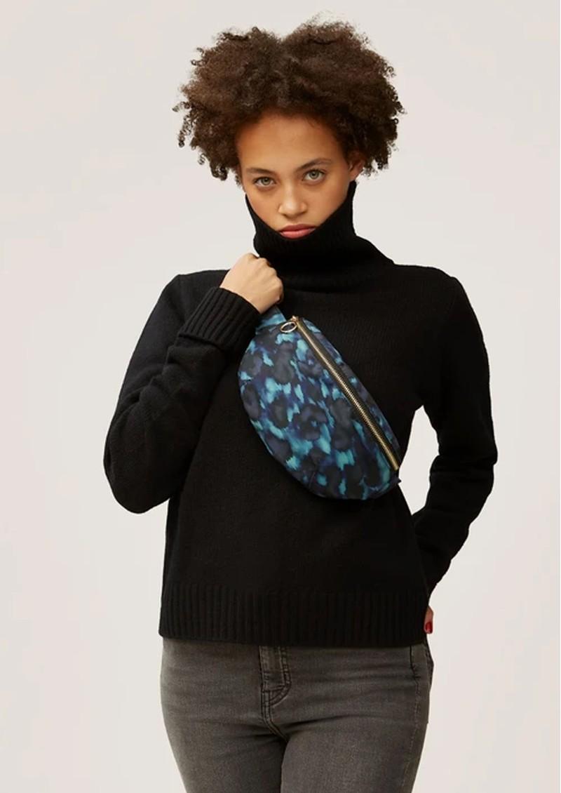 NOOKI Maisie Waist Bag - Blue Leopard  main image