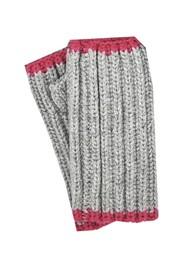 NOOKI Marta Recycled Fingerless Gloves - Grey
