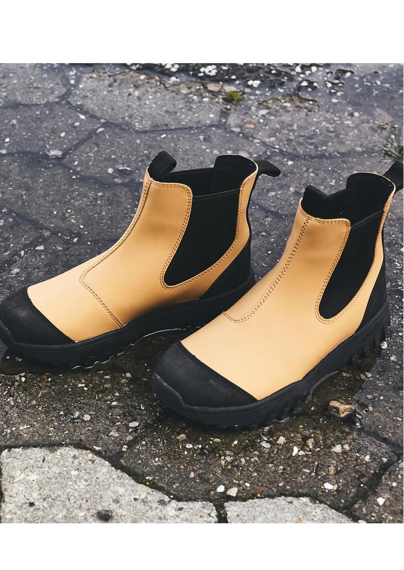 WODEN Magda Rubber Waterproof Track Boot - Ochre main image