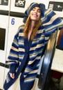 Carrie Oversized Cardigan - Dark Blue  additional image