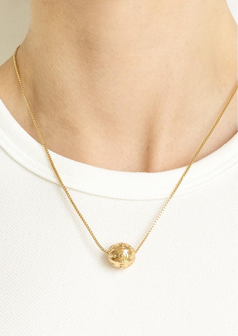 PAJAROLIMON Alder Pendant Necklace - Gold main image
