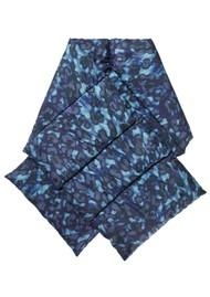 NOOKI Reno Padded Scarf - Blue Leopard