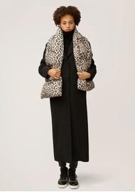 NOOKI Reno Padded Scarf - Natural Leopard