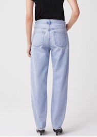 AGOLDE Tapered High Rise Baggy Jean - Dimension