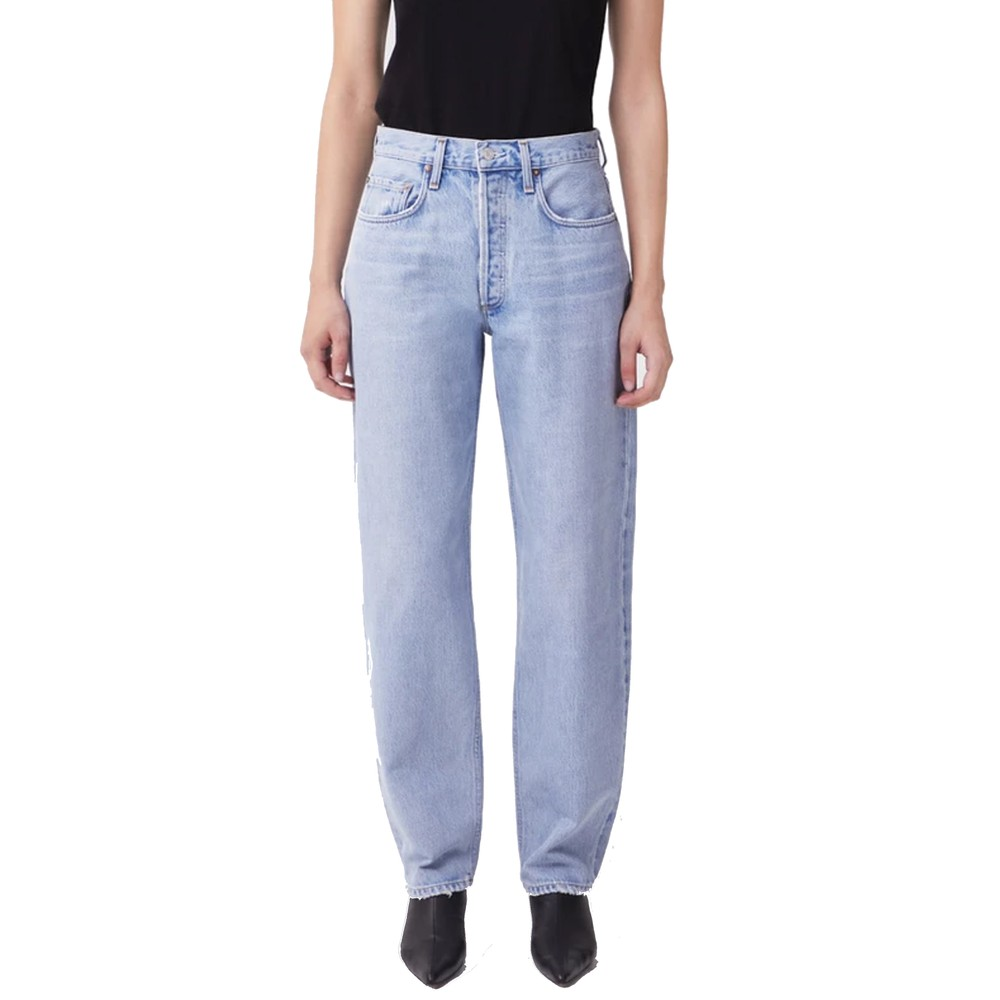 Tapered High Rise Baggy Jean - Dimension