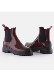 LEMON JELLY Stroller 03 Vegan Jelly Boots - Bordeaux