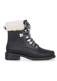 EMU Okab Mix Mid Calf Waterproof Boots - Black