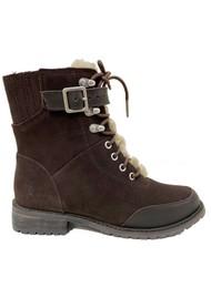 EMU Waldron Mix Mid Calf Waterproof Boots - Espresso