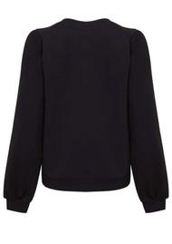 NOOKI Piper Cotton Sweater - Black