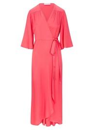 SIRENS Fifi Wrap Dress - Pink