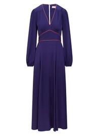 SIRENS Sonni Maxi Dress - Navy & Pink