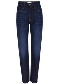 Frame Denim Le Original High Rise Slim Straight Leg Jeans - Hallam