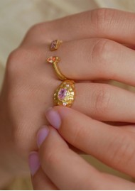 ENAMEL COPENHAGEN Leia Ring - Gold