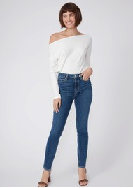 Paige Denim Margot Ankle Ultra High Rise Skinny Jeans - Clique