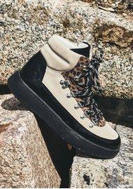 WODEN Iris Mix Hiking Boot - Leopard