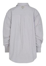 LEVETE ROOM Panna 1 Organic Cotton Shirt - Stripe