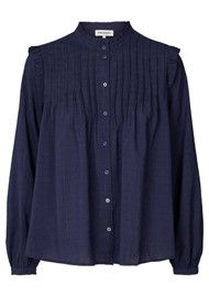 LOLLYS LAUNDRY Dawn Shirt - Dark Blue