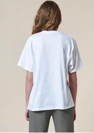 STELLA NOVA Teresa Cat Organic Cotton T-Shirt - White