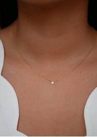 ENAMEL COPENHAGEN Fleur Star Necklace - Gold