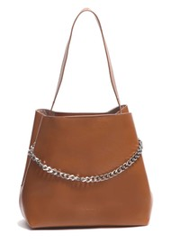 NUNOO Chiara Florence Leather Bag - Cognac