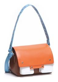 NUNOO Honey Florence Leather Bag - Cognac Mix
