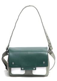 NUNOO Honey Florence Leather Bag - Green Mix