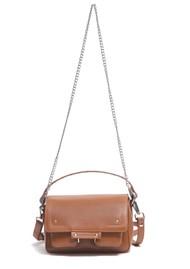 NUNOO Small Honey Florence Leather Bag - Cognac