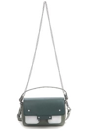 NUNOO Small Honey Florence Leather Bag - Green Mix