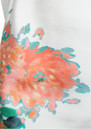 Lola Silk Flower Print Dress - Cream additional image