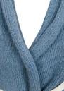 American Vintage Native Wrap Sleeveless Cardigan - Jean Blue