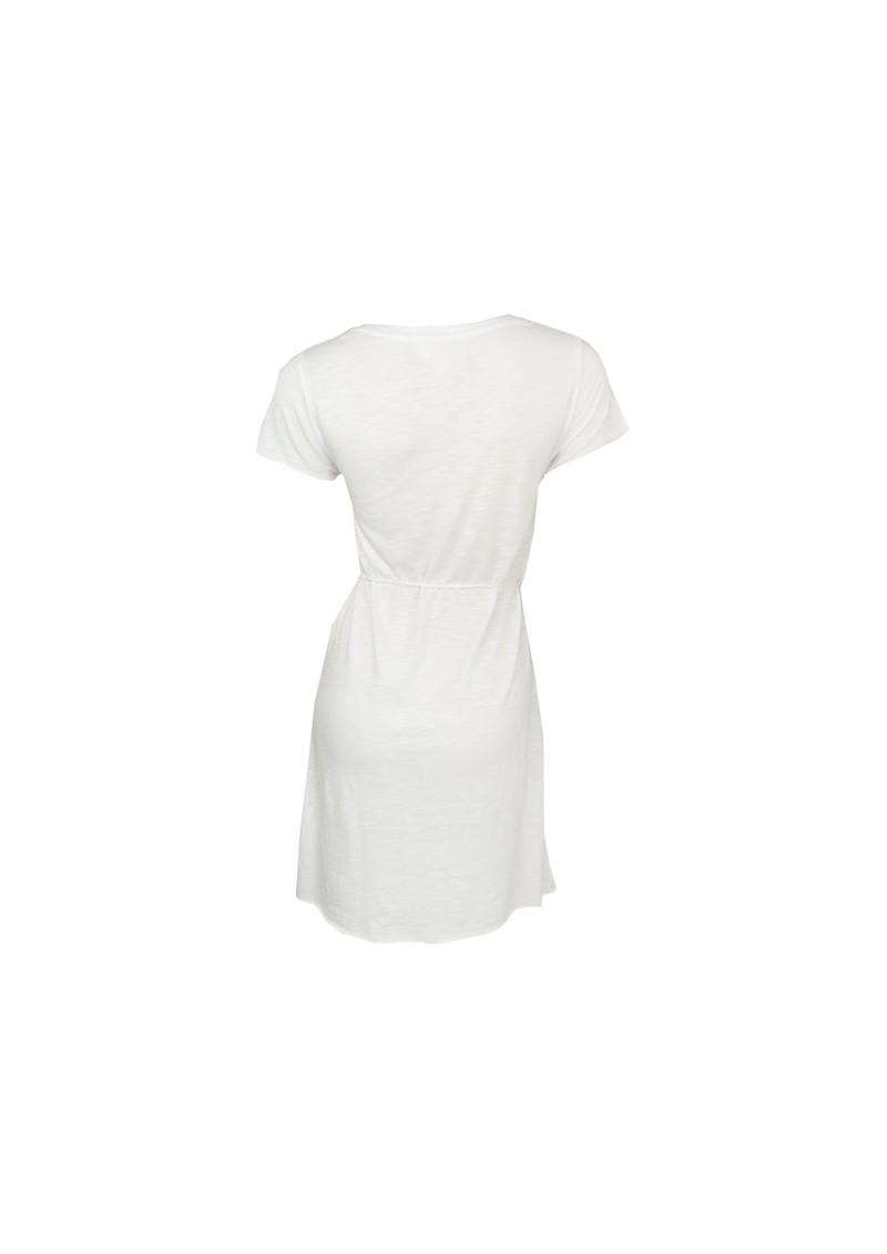 American Vintage Jacksonville Short Sleeve Dress - White main image