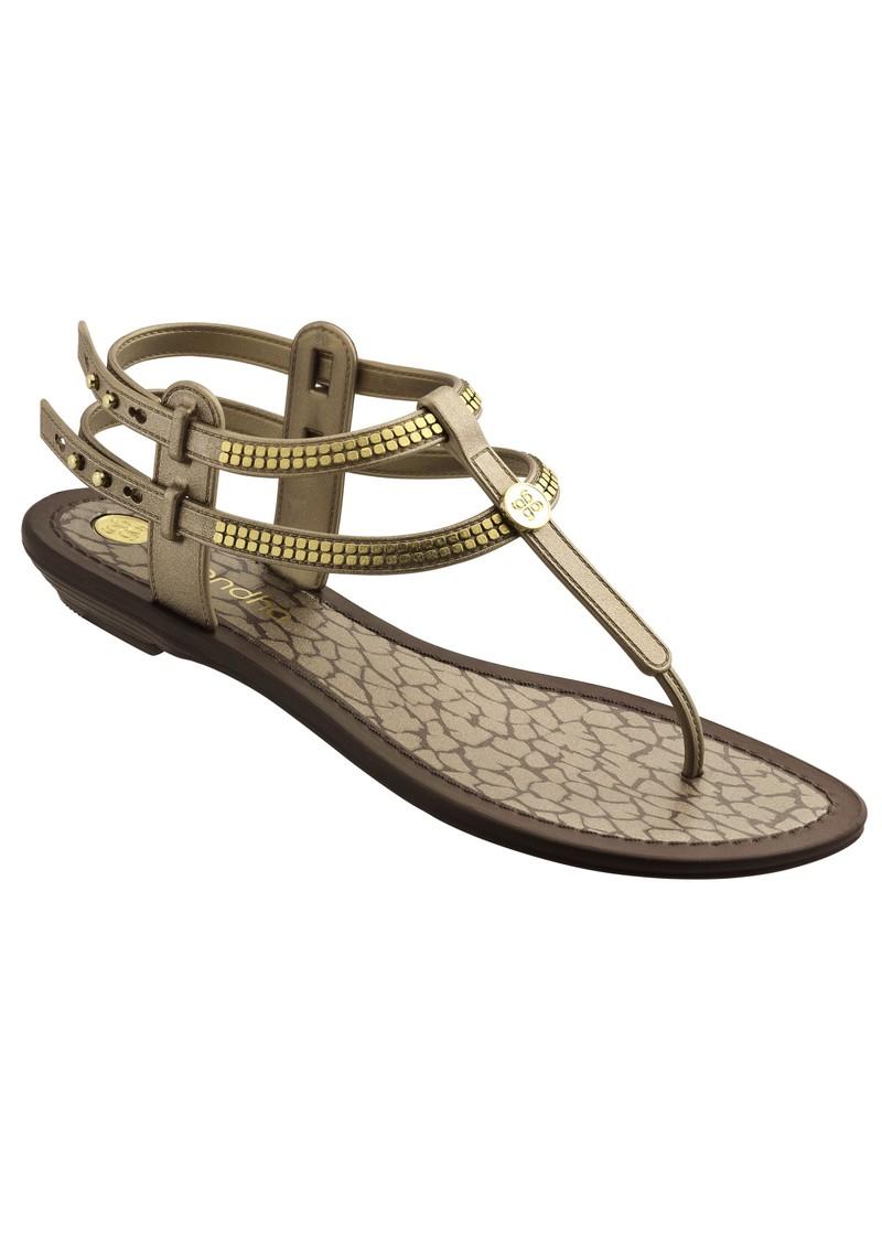 3d68d8014c3e Elegance Gladiator Style Flip Flop - Gold main image
