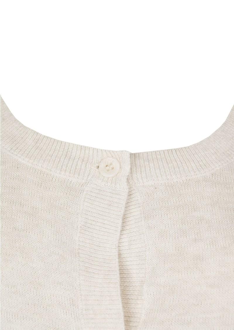 American Vintage Windy City Fine Knit Jumper - Nude Melange main image