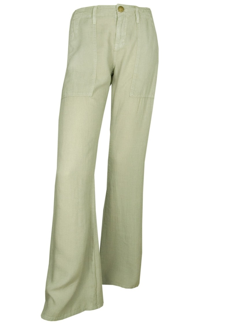 The Wide Leg Army Pant - Moss Green main image