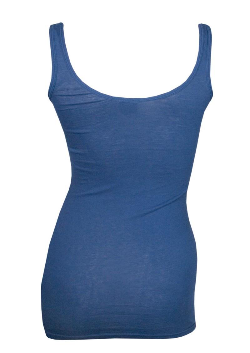 Bobi Luxury Jersey Basic Tank - Scuba Blue main image